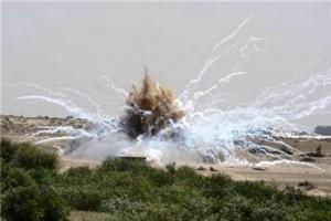 פיצוץ מסתורי (צילום ארכיון: סוכנות מען)