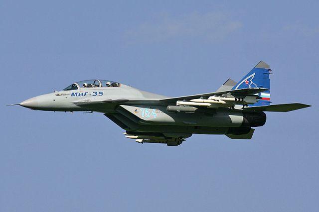 מטוס הקרב הרוסי מיג-35. צילום: ויקיפדיה