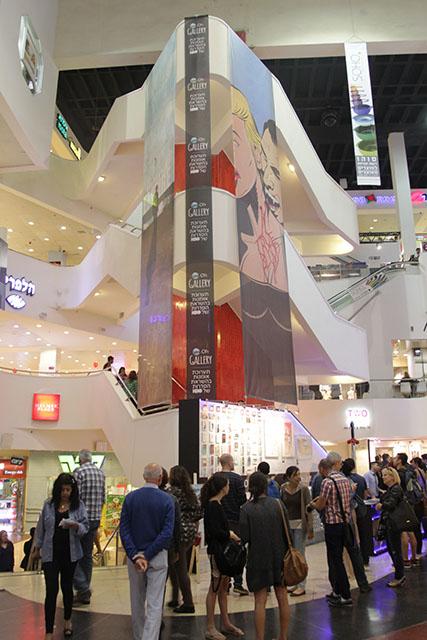 השקת התערוכה. צילום: רפי דלויה