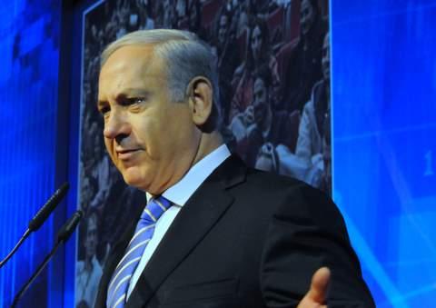 שב ותוקף את הרשות הפלסטינית. נתניהו (צילום ארכיון: ציפי מנשה)