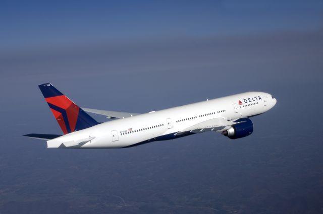 בואינג 777-200ER של דלתא. מטוס לטווחים ארוכים. צילום: דלתא