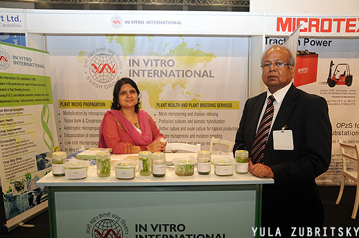 InVitro International,plant micropropagation צילום: יולה זובריצקי