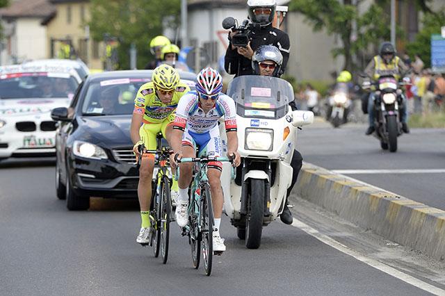 הדואו האיטלקי. צילום: Fabio Ferrari - LaPresse