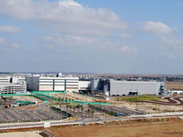 מפעל אינטל בקריית גת (צילום: אינטל)