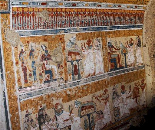 קברו של בשלן בירה עתיק נחשף במצרים