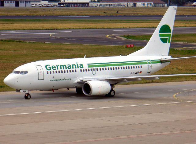 בואינג 737 של חברת גרמניה. צילום: ויקיפדיה