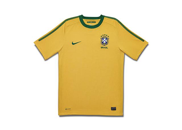 חולצת נבחרת ברזיל במונדיאל 2010. צילום: .Nike Inc