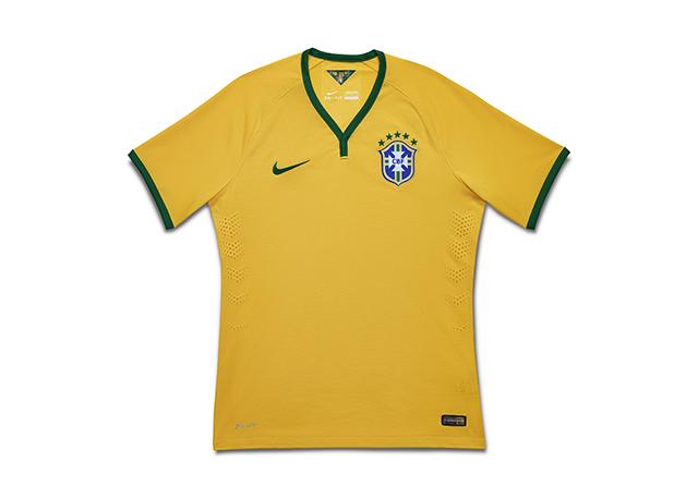 חולצת נבחרת ברזיל במונדיאל 2014. צילום: .Nike Inc