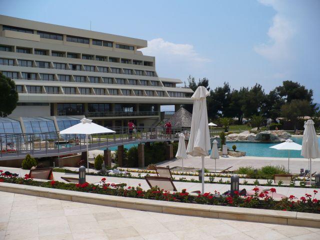 מלון ביוון. רבים מבקשים לבטל את החופשה. (צילום: עירית רוזנבלום)