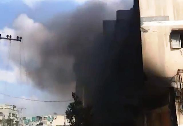 """שכונת סג'עאיה היום (צילום: אתר """"עזה תחת מתקפה"""")"""