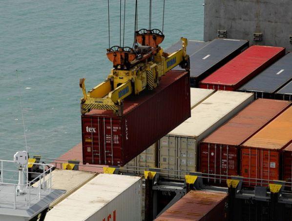 עיצומים בנמל אשדוד. צילום: דובר צה