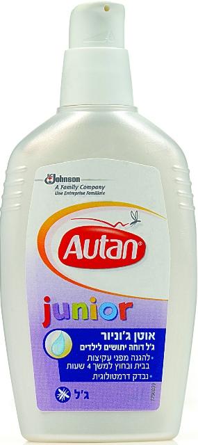 Autan Junior מותאים לילדים