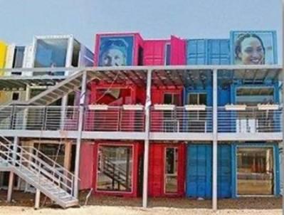 שכונת המכולות לסטודנטים בלוד (צילום: box-es)