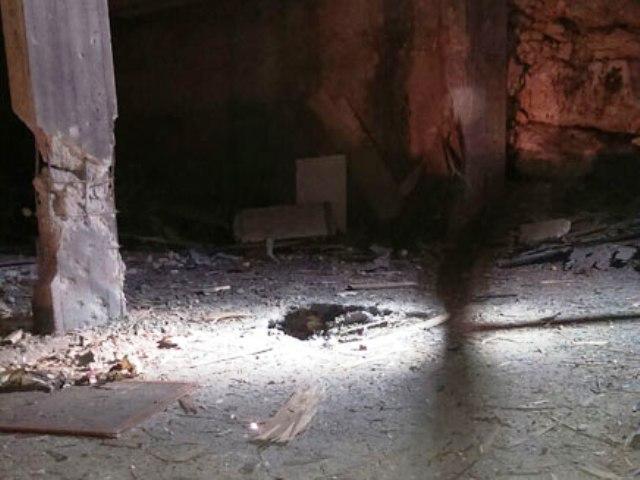 נפילה סמוך למבנה ריק בצפון (צילום מסך חדשות 2)