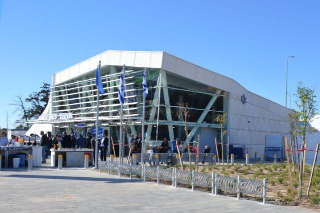 תחנת הרכבת בשדרות. צילום: ויקיפדיה