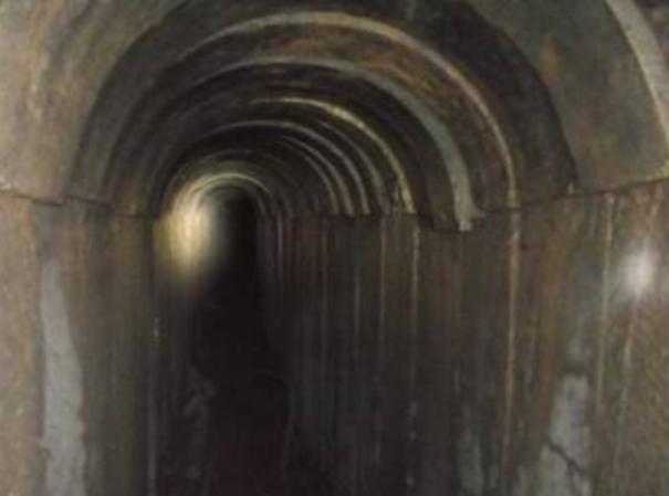 """מנהרת תופת של החמאס. צילום: דובר צה""""ל"""