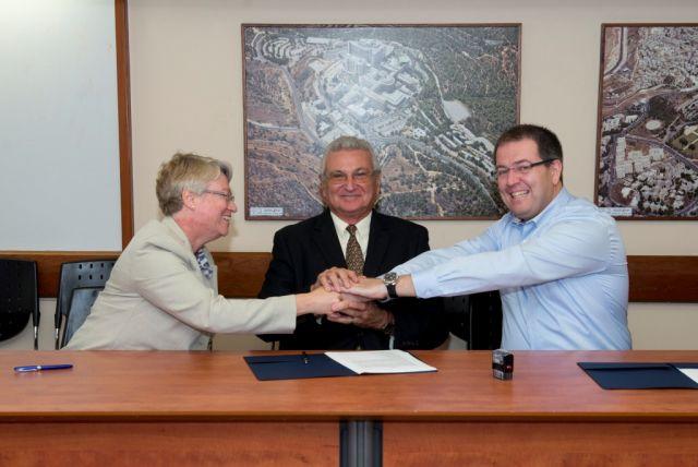 לוקהיד מרטין ויישום חתמו על הסכם שיתוף פעולה מחקרי