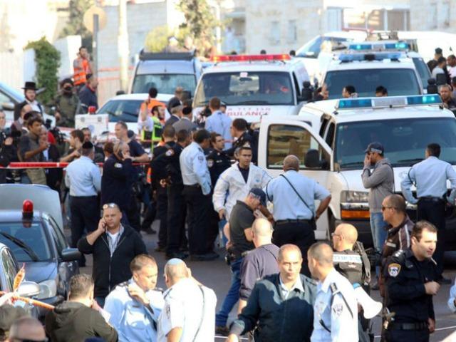 הטבח בירושלים - המשטרה עברה לכוננות ג'