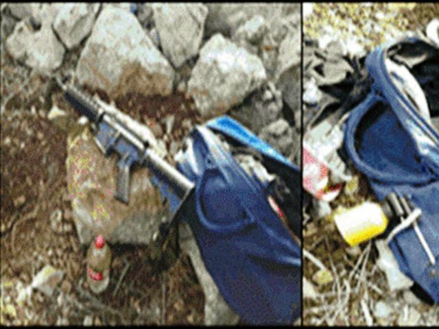 """הנשקים שנתפסו (צילום: השב""""כ)"""