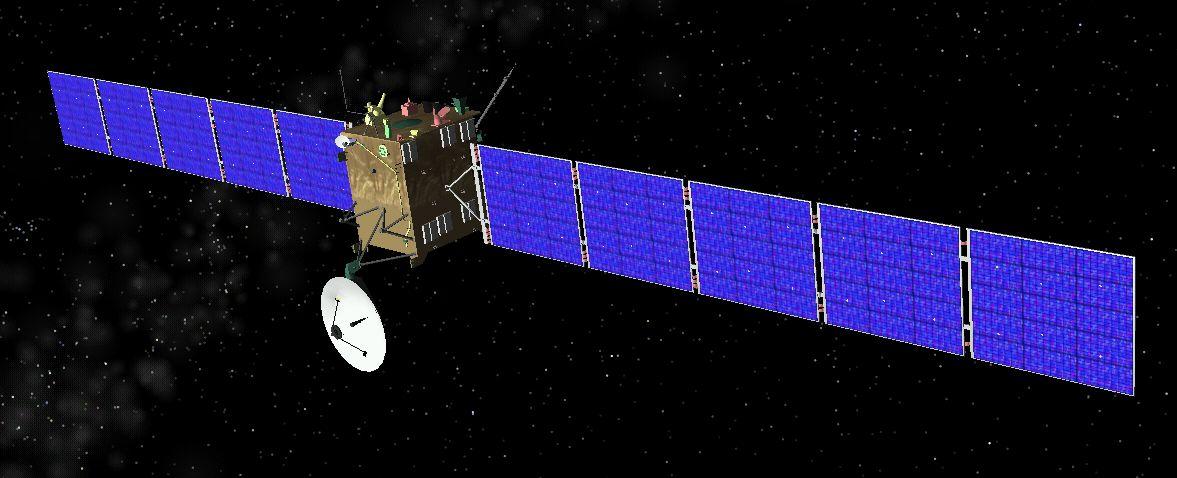 החללית רוזטה (צילום: ויקיפדיה)