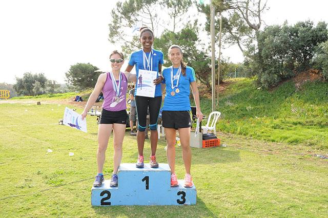 מנצחות מירוץ הנשים. צילום: דוברות וינגייט