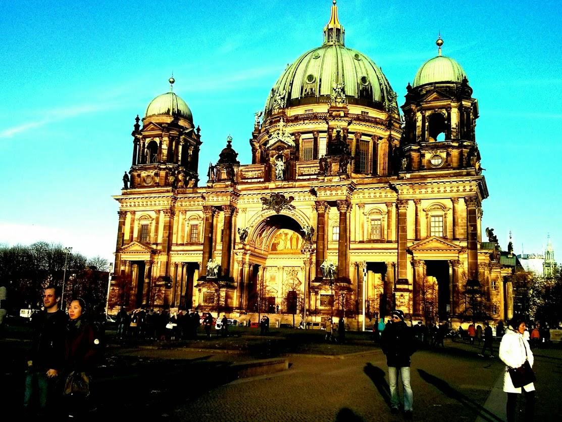 קתדרלת ברלין (ברלינר דום) באי המוזיאונים במרכז ברלין. (צילום: עירית רוזנבלום)