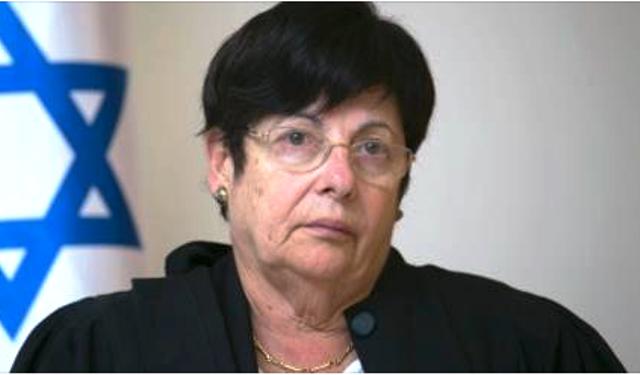 """נותרה בדעת מיעוט - נשיאת העליון מרים נאור (צילום: יח""""צ)"""