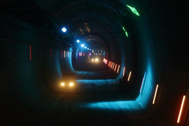מנהרת הקו המהיר לירושלים. צילום: רכבת ישראל