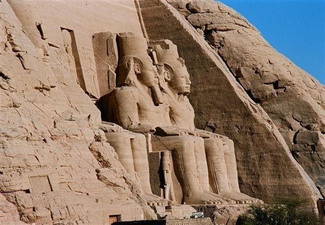 """מקדש אבו סימבל. צילום: יח""""צ"""