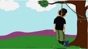 אילוסטרציה: חבל הצלה שהופך לחבל תליה