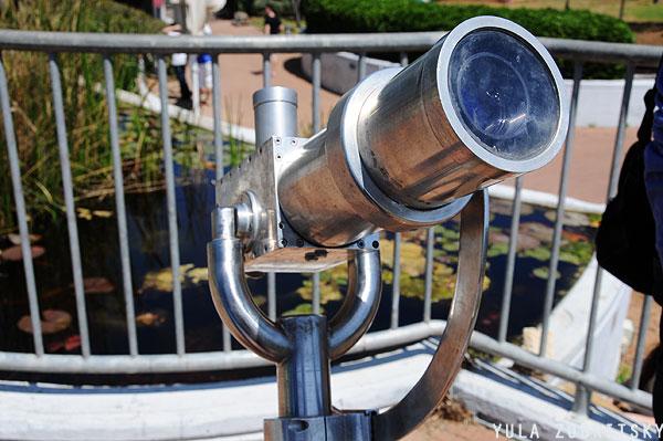 טלסקופ שמש.   צילום: יולה זובריצקי