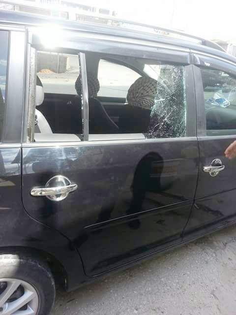 אלמונים זועמים נתצו כלי רכב בבחווארה