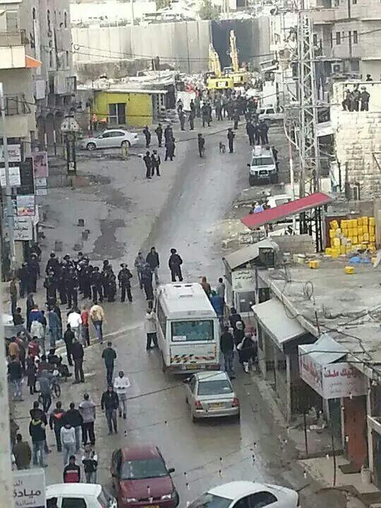 מחנה הפליטים שועפת -  מהווה נקודת חיכוך קשה בין תושביו לכוחות הביטחון (צילום: תקשורת ערבית)