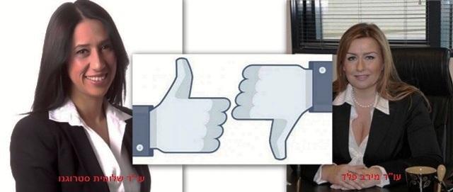 פסק דין תקדימי - סטרוגנו נגד פלד (תמונות מדף הפייסבוק )