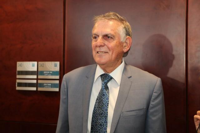 פרופ' דן שכטמן, חתן פרס נובל לכימיה (צילום: דוברות הכנסת)