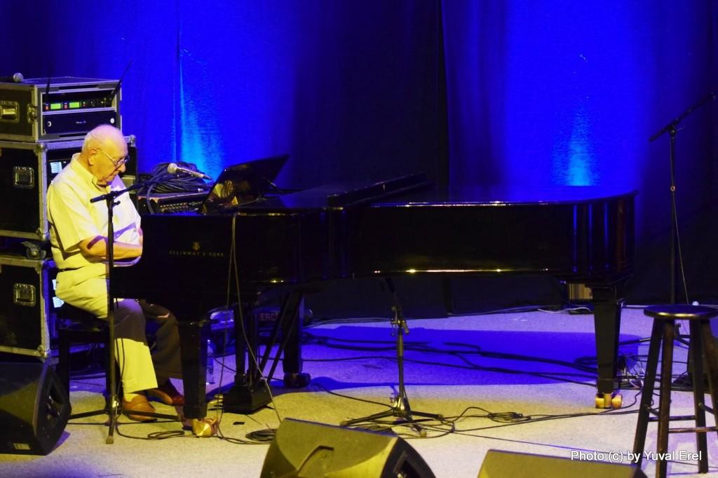 מוריס אל מדיוני בפסטיבל הפסנתר. צילום: יובל אראל