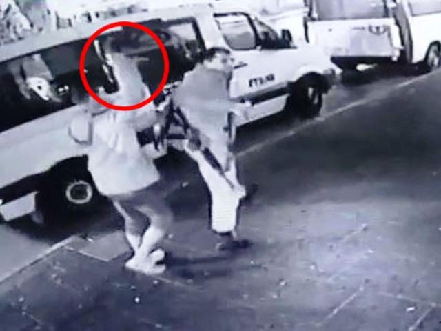 מתוך סרטון מצלמות האבטחה