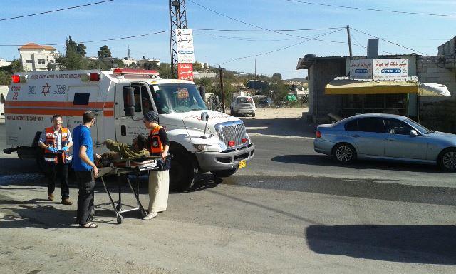 פיגוע דריסה שני הבוקר: 5 חיילים נפצעו - המחבל חוסל
