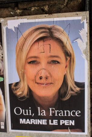 החזית הלאומית כובשת את צרפת