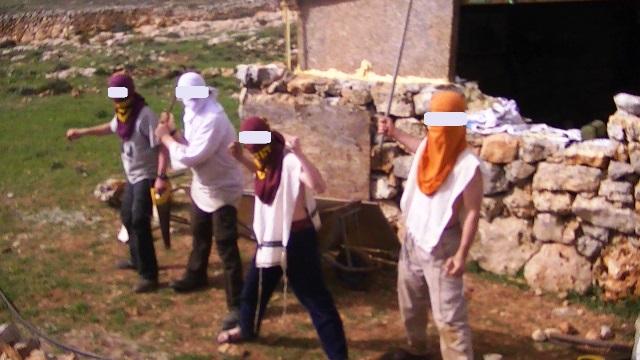 פעילי נוער הגבעות (תמונת ארכיון)