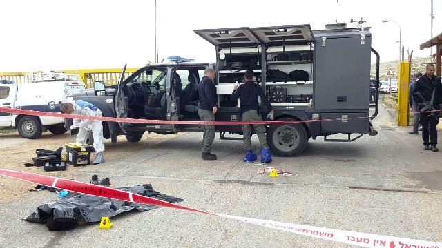 המשטרה החלה בחקירת האירוע (צילום: חטיבת דובר המשטרה)