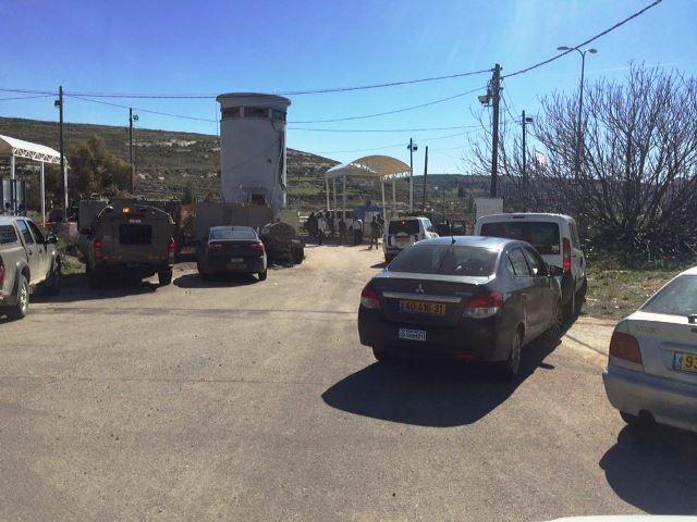 זירת הפיגוע במחסום פוקוס