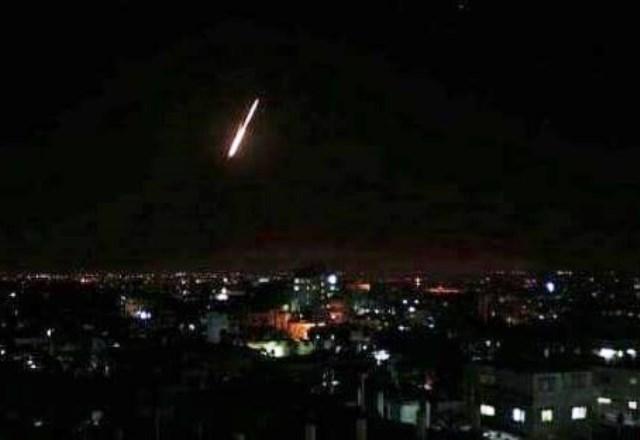 ירי רקטה לעבר ישראל (צילום ארכיון)