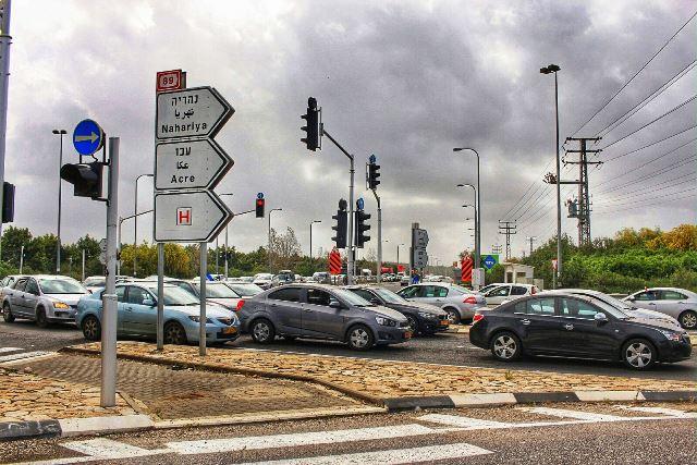 כביש 89 - פקקי תנועה אדירים (צילום: אמיר ירח - עמותת ידידי בית החולים הגליל)
