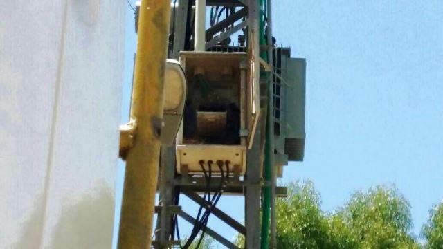 ארון החשמל בטובא זנגריה (צילום: דוברות חברת חשמל)