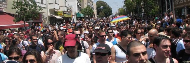 מצעד הגאווה, תל אביב, 2008 (צילום: ויקיפדיה)