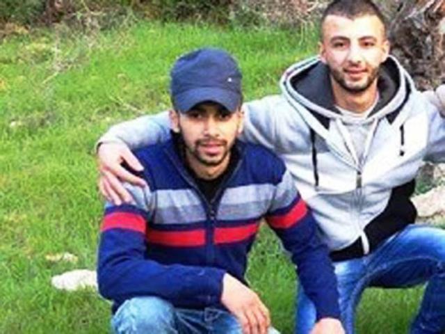 שני המחבלים - אבו חבסה ועסאף (צילום: סוכנות מען)