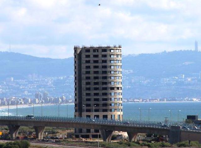 שלד המלון (צילום באדיבות עיריית עכו)