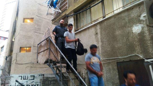 """השב""""חים נעצרו (צילום: חטיבת דובר המשטרה)"""