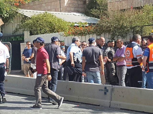 """מפכ""""ל המשטרה מגיע לזירת הפיגוע (חדשות לפני כולם)"""
